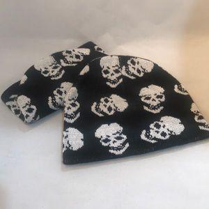 NWT Skull Beanies